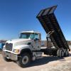 Image for Mack CV513 24' Flatbed Dump w/ Moffett Piggyback Setup, 2001